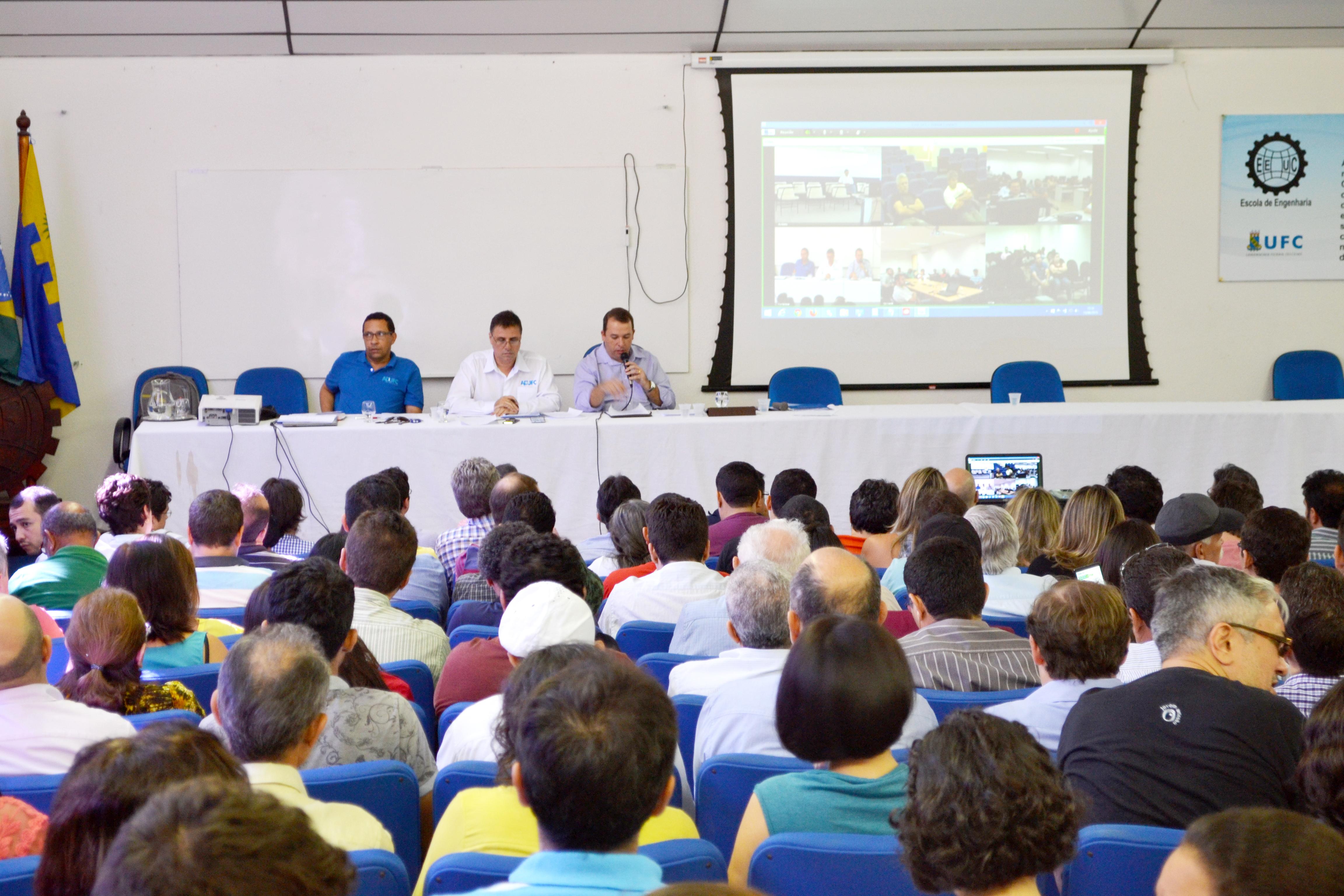 Greve dos professores das Universidades Federais no Ceará inicia dia 18 de agosto