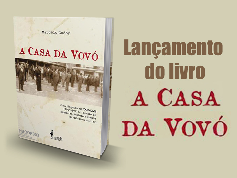 Jornalista Marcelo Godoy lança livro na sede da ADUFC-Sindicato