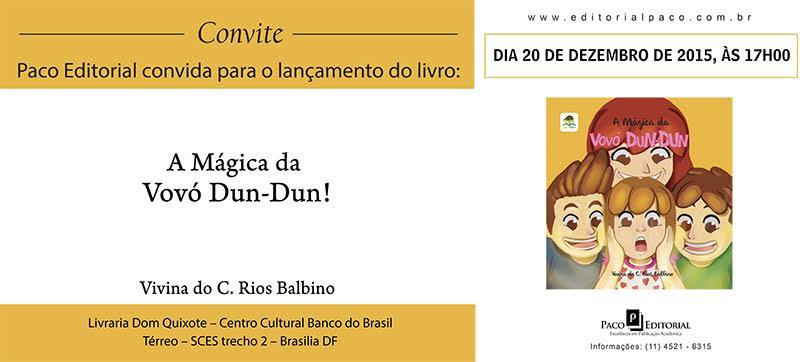 Professora lança livro infantil em Brasília