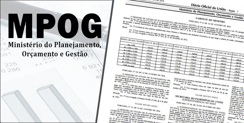 Portarias que reajustam benefícios aos docentes são publicadas no Diário Oficial da União