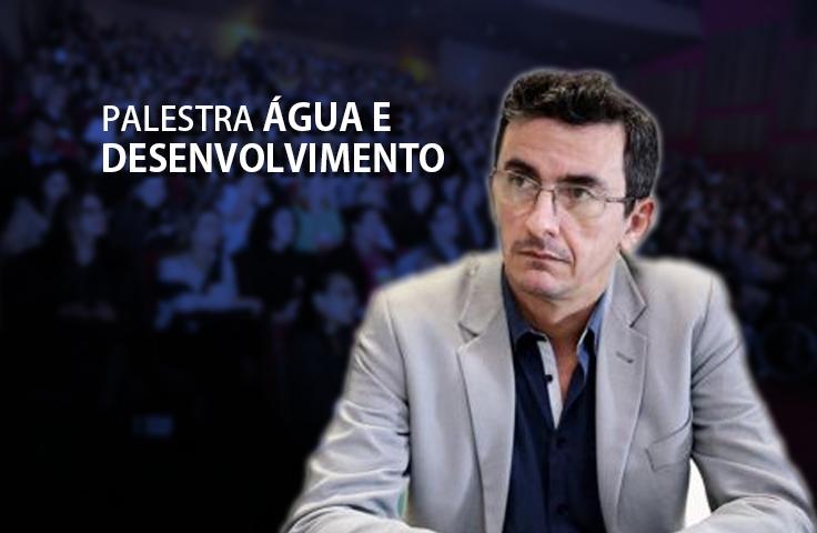 """[Ao Vivo] Acompanhe a palestra """"Água e Desenvolvimento"""", com o Prof. Eduardo Martins (FUNCEME)"""