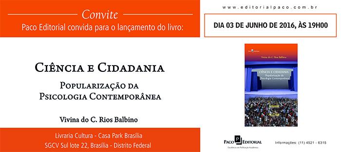 Professora aposentada lança livro em Brasília