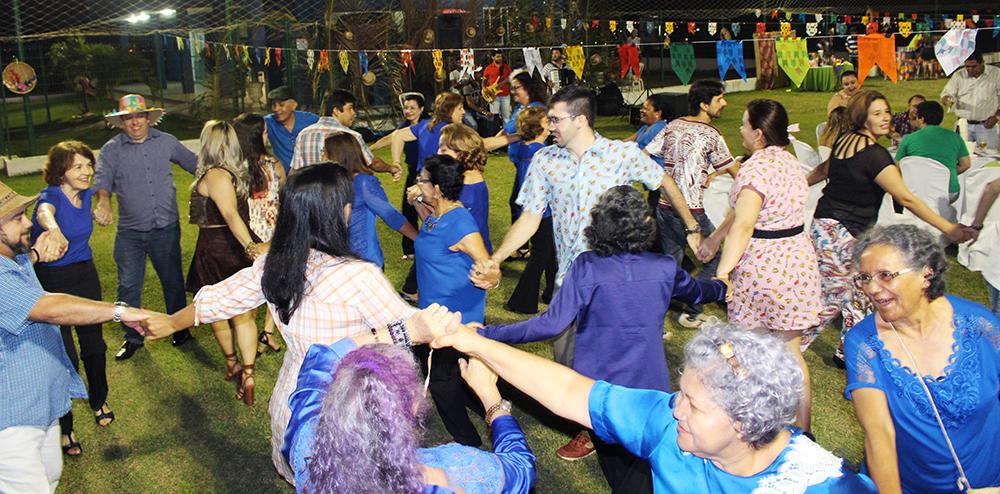 Professores da UFCA festejam tradição junina na sede da ADUFC-Sindicato no Cariri