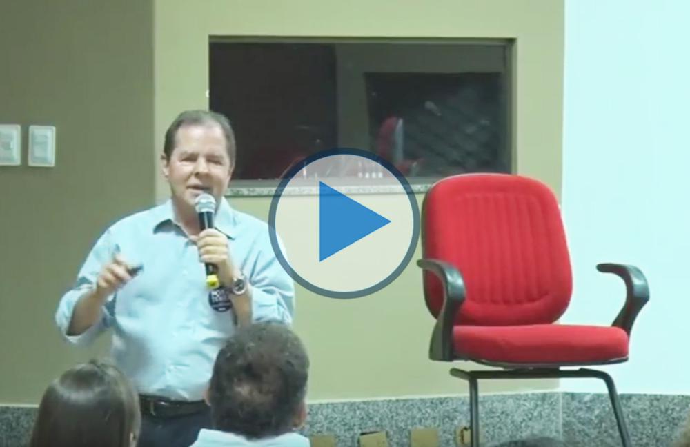 """Palestra """"A fusão do MCTI e o futuro da Ciência, Tecnologia e Inovação no Brasil"""", com Sérgio Rezende (Ex-ministro de Ciência e Tecnologia)"""