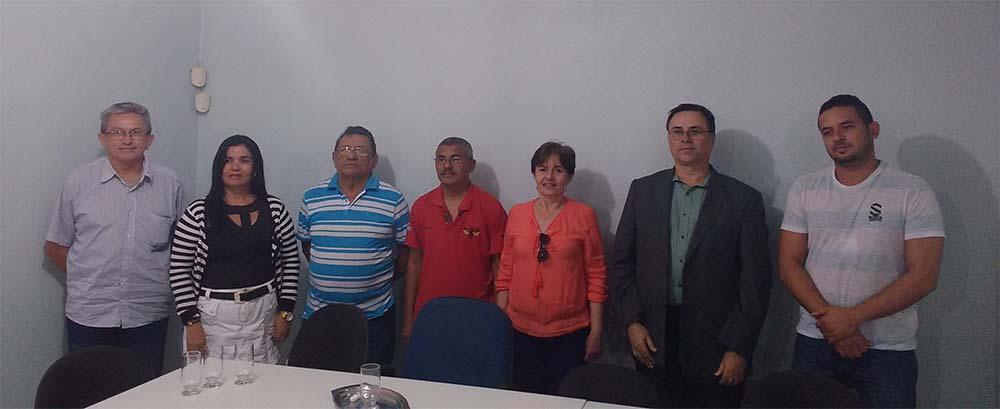Secretário-Geral participa de reunião de articulação no SINDJUSTIÇA/CE